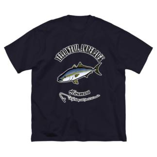 HIRAMASA_6_C Big silhouette T-shirts