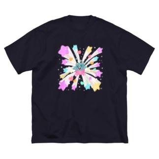 キラキラバーン Big Silhouette T-Shirt