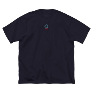 coco70のHISUI KAZURA ワンポイントT Big Silhouette T-Shirt
