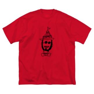 ルパンか次元か Big silhouette T-shirts
