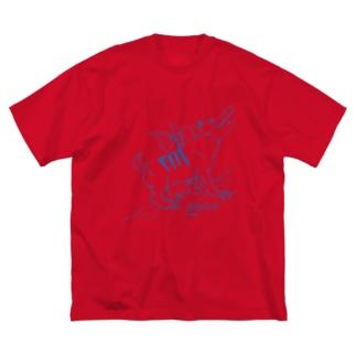 ACMA Big silhouette T-shirts