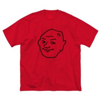 えずい Big silhouette T-shirts