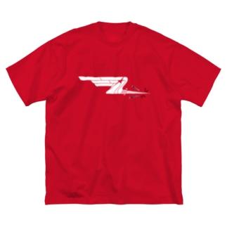 USSR 402nd IAP White Big silhouette T-shirts