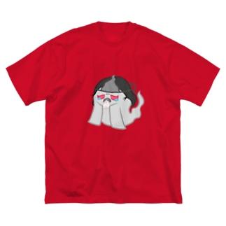 ゾワゾワおいわさん Big silhouette T-shirts