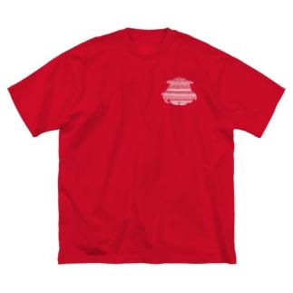 メンダコ白+ Big Silhouette T-Shirt