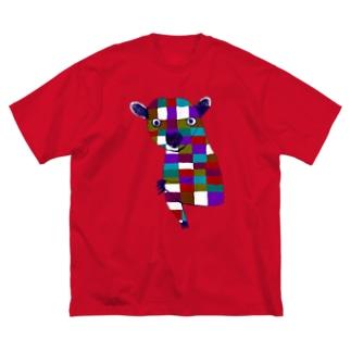 キンカジュー Big silhouette T-shirts