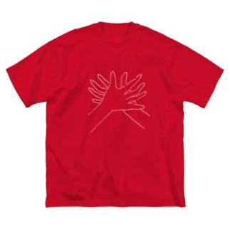 かにの手 Big T-shirts