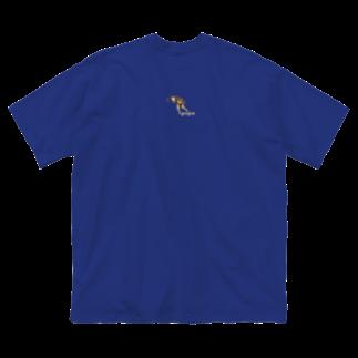 edamametoichiのpepa 小 ロゴ色違い Big silhouette T-shirts