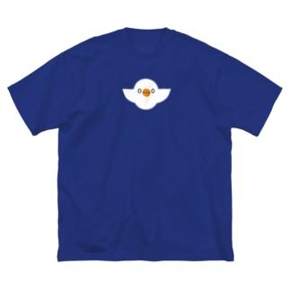 esaクリア Big silhouette T-shirts