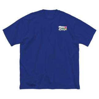 ガタgo グッズ Big silhouette T-shirts