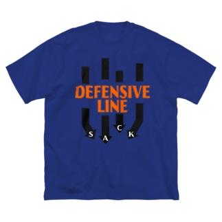 DL-SACK Big silhouette T-shirts