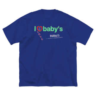 BéBé/3の♡BABY'S♡ Big silhouette T-shirts