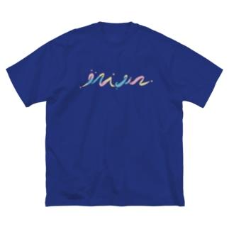 特に英語とかではない Big silhouette T-shirts