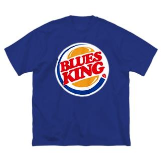 BLUES KING Big silhouette T-shirts