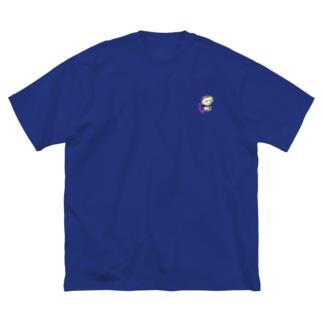 神々の系譜『クロネ』 Big silhouette T-shirts