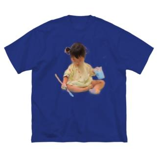 アーティストめい Big silhouette T-shirts