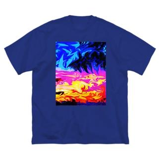 Sunset Big Silhouette T-Shirt