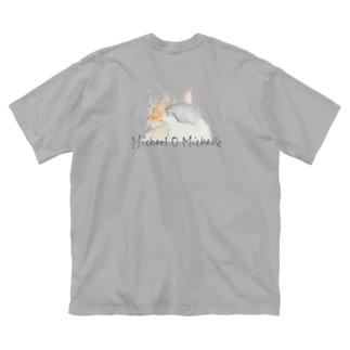 Moco star & Lily moon Big T-shirts