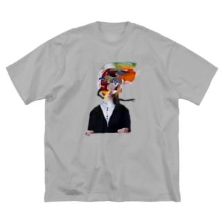 ふつうに2美 Big Silhouette T-Shirt