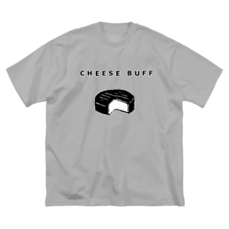 CHEESE BUFF<チーズ愛好家> Big silhouette T-shirts