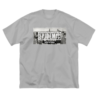 EPIDEMICのEPIDEMIC city's Big silhouette T-shirts