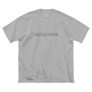 SHADOW LOGO Big silhouette T-shirts