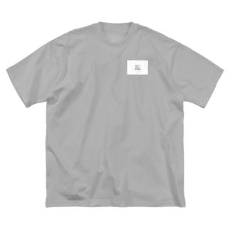 細い線を引く GET WELL SOON Big silhouette T-shirts