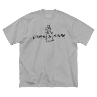 KOUME&AOUME Big silhouette T-shirts
