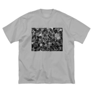 泡~モード~ Big silhouette T-shirts