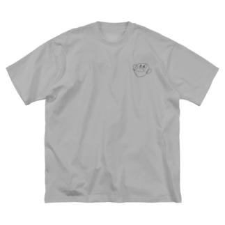 おかあさん3.5 Big silhouette T-shirts