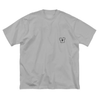 TTシャツTシャツ Big silhouette T-shirts