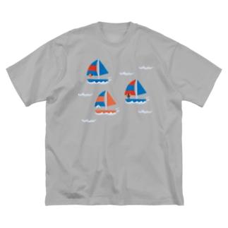 Yacht Big silhouette T-shirts