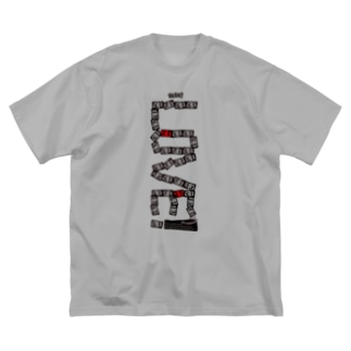 jbstyle.のLOVE Big silhouette T-shirts