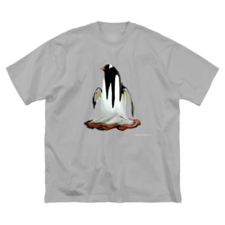 pen-gu-nyuuuun Big silhouette T-shirts