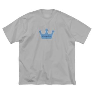 ミニマリスト Big silhouette T-shirts