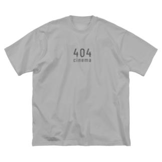 404cinema Big Silhouette T-Shirt