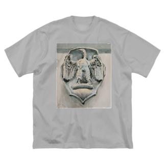 Akiyoのフィレンツェ画房 の貴族の紋章001 鷲 Big Silhouette T-Shirt
