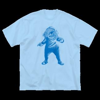 Dark blancoのきょうぼう君 Big silhouette T-shirts