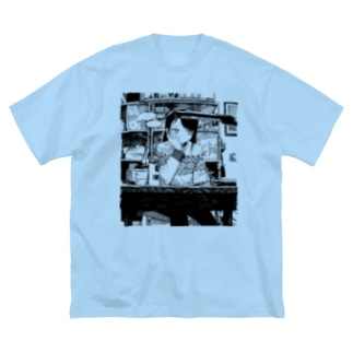 DISCOnnection Big silhouette T-shirts