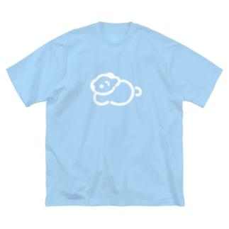 こぐま Big silhouette T-shirts