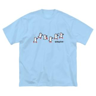 チョムどりいっぱい! Big silhouette T-shirts