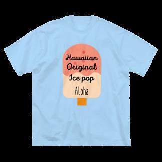 mahaloa968のアイスバー(アロハ) Big silhouette T-shirts