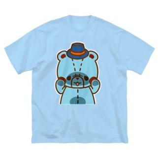 リムの「のぞき見」編 Big silhouette T-shirts