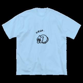 団地童 _DANCHIDO_のNEKO. Big silhouette T-shirts