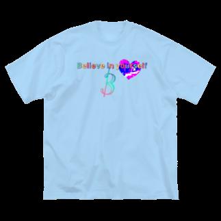BéBé/3のbelieve Big silhouette T-shirts