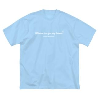 W M Big silhouette T-shirts