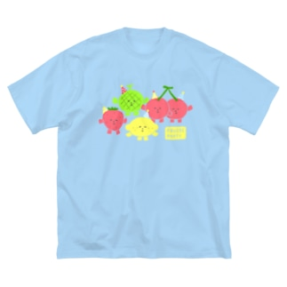 FRUITS PARTY Big silhouette T-shirts