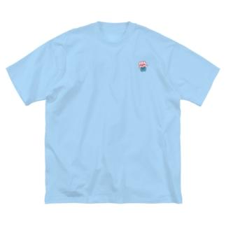 チューリップの妖精よっちー Big silhouette T-shirts