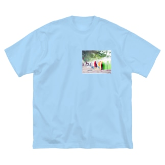 Oman's journey Big silhouette T-shirts
