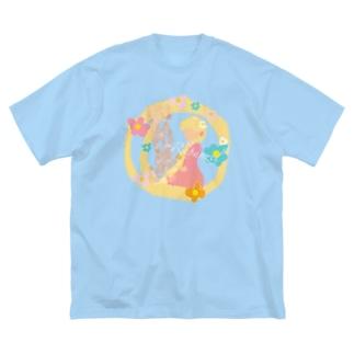 ラプンツェル👸🏼 Big silhouette T-shirts
